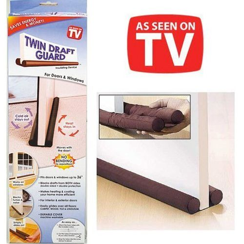Twin Draft Guard - Energy Saving Under Door Draft Stopper - The Product Promoter