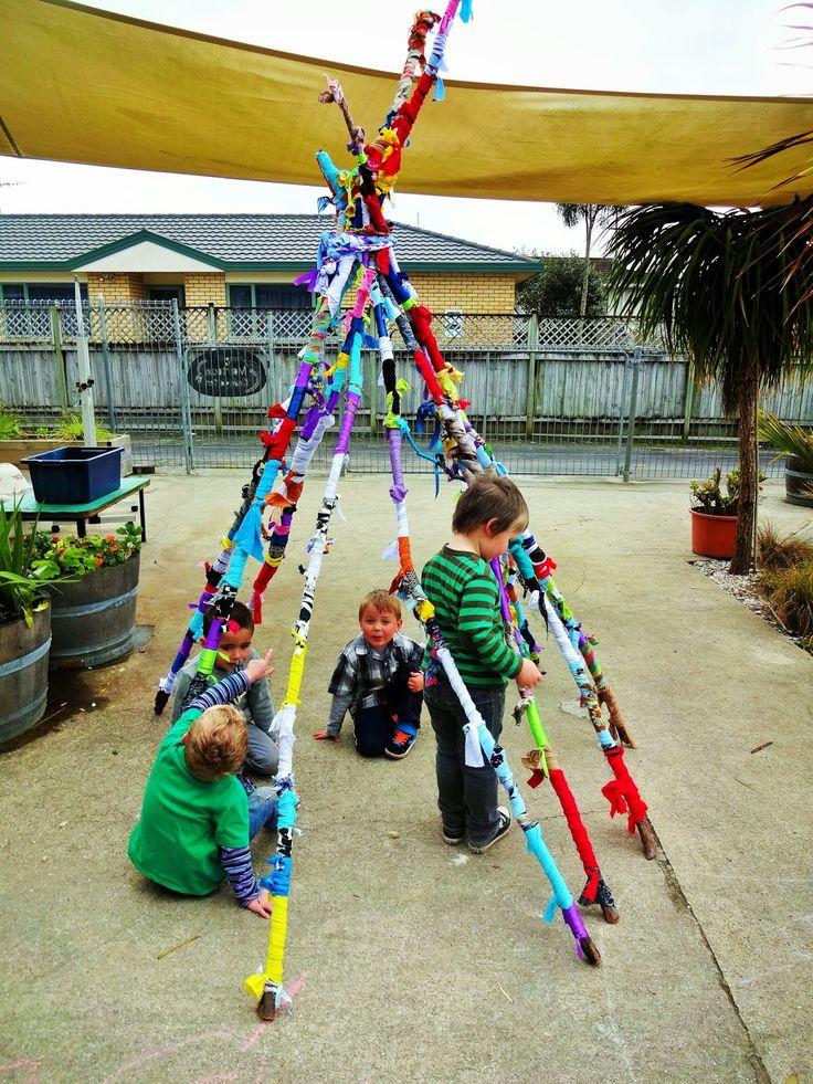 Mairtown Kindergarten: Coloured Sticks