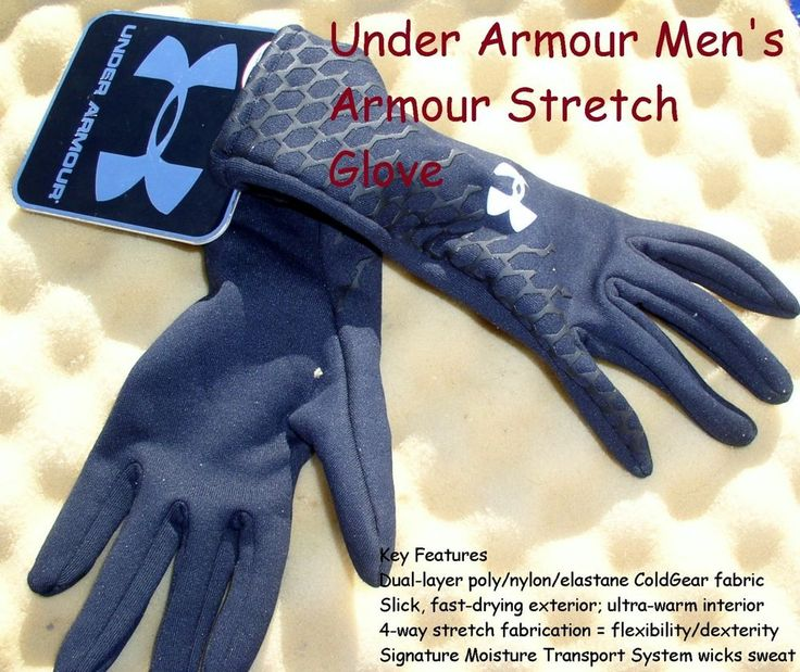 under armour fishing gloves