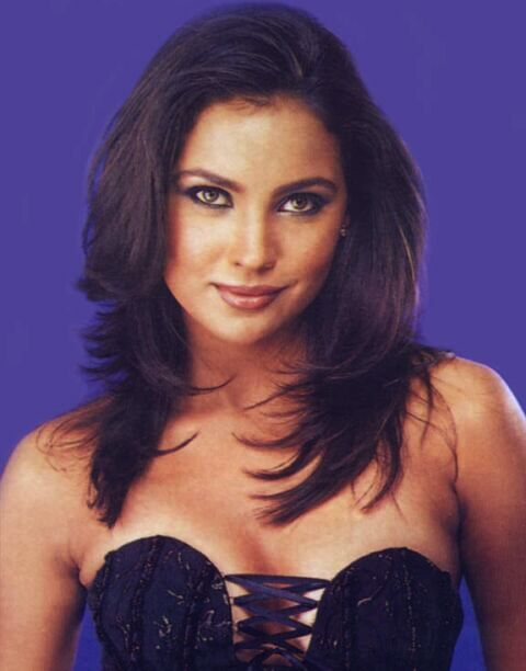Lara Dutta (India) - Miss Universe 2000. Height - 173 cm, measurements: bust - 95, waist - 60.5, hips - 94.5