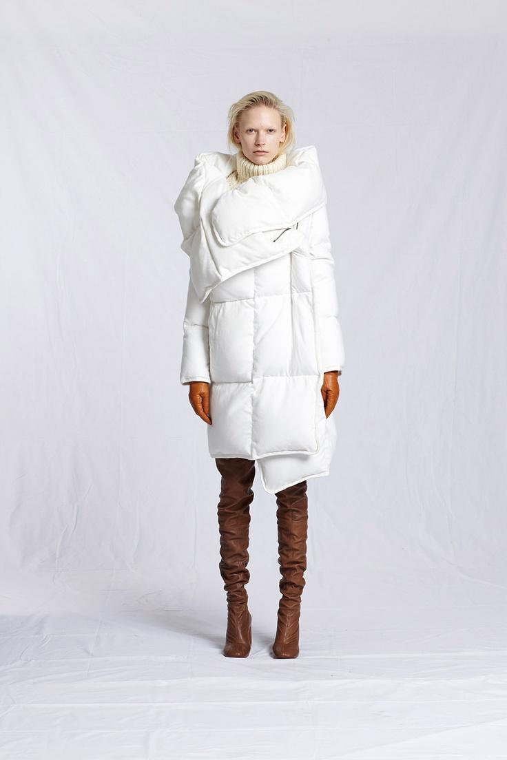 What's that jacket, Margiela? Yup. Margiela Pre-Fall 2012. Comfy.