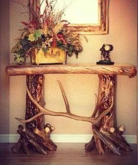 Entry antler table