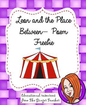 This download includes a short poem based on the book Leon and the Place Between. There is also a writing prompt sheet to allow children to write their own version of the poem. This is an extract from my complete Leon and the Place Between, unit which can be found here**************************************************************************My other English products: Persuasive Writing Complete Unit  Dialogues and Play Scripts Unit of Work Instruction Writing Unit…