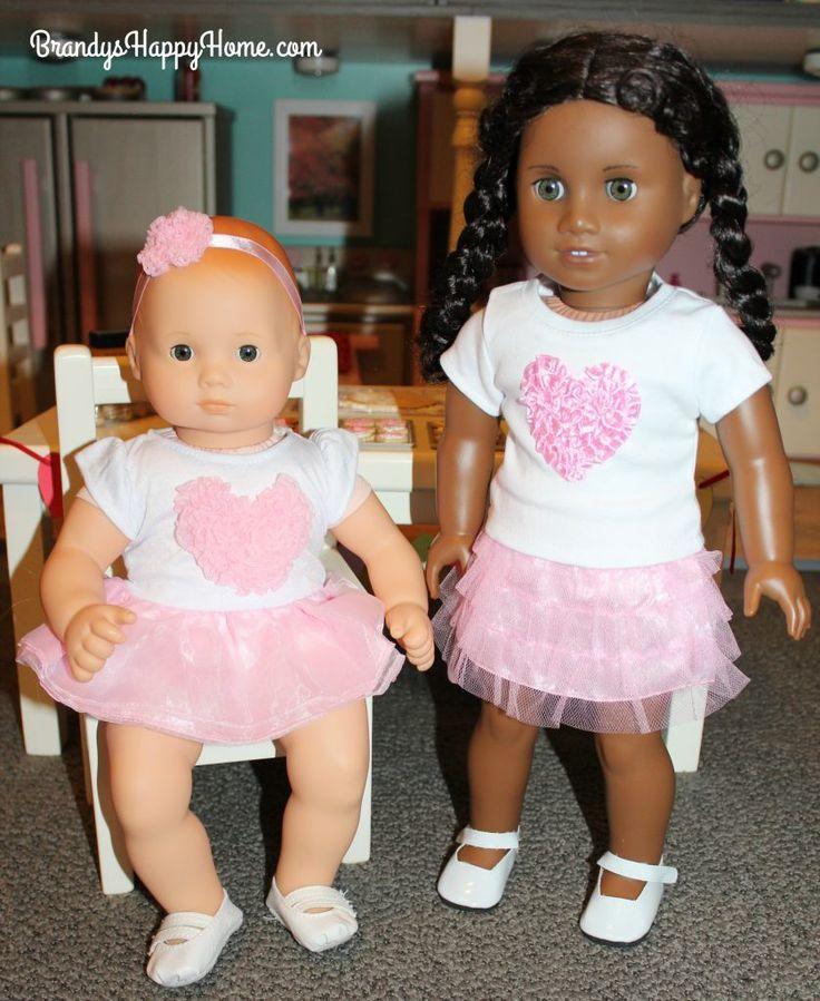 DIY Doll Tupperware Pie Mat & Clay Cookies American girl