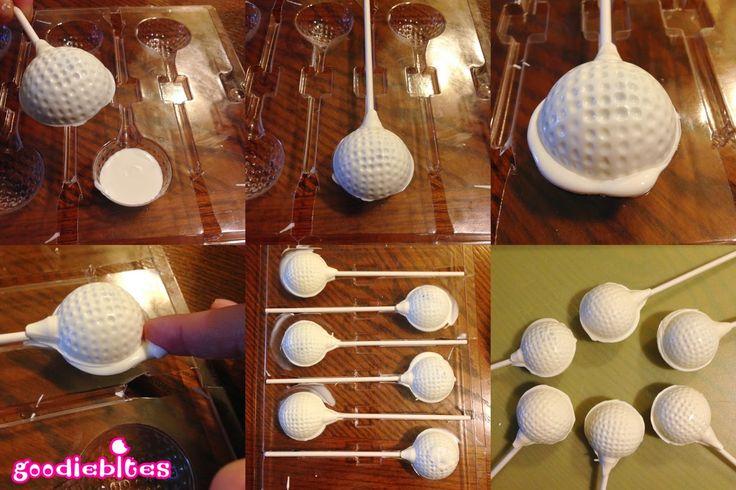 Pint Sized Baker: How to Make Golf Ball Cake Pops