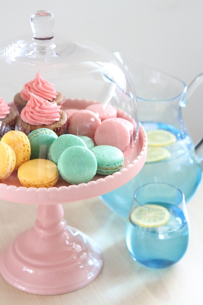 Our summer macaron selection from Ma Cherie, pineapple, raspberry, feijoa, passionfruit & vanilla