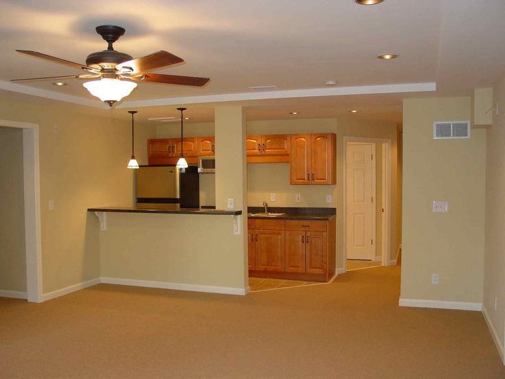 Basement remodeling ideas basement kitchenette ideas for One bedroom apartment renovation ideas