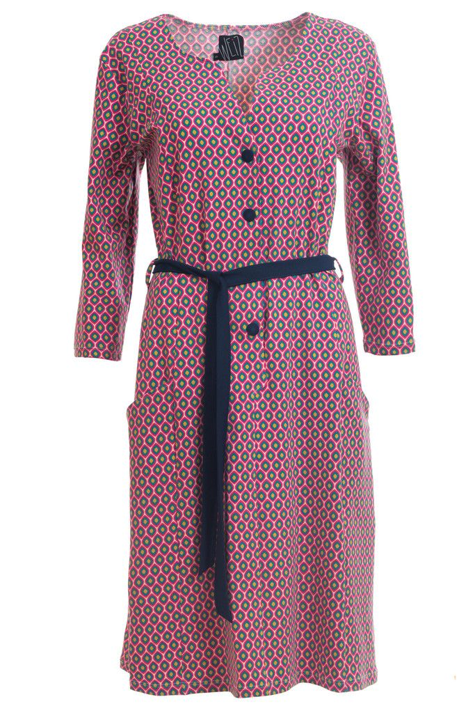 Fantastic Gyda dress in retro print.