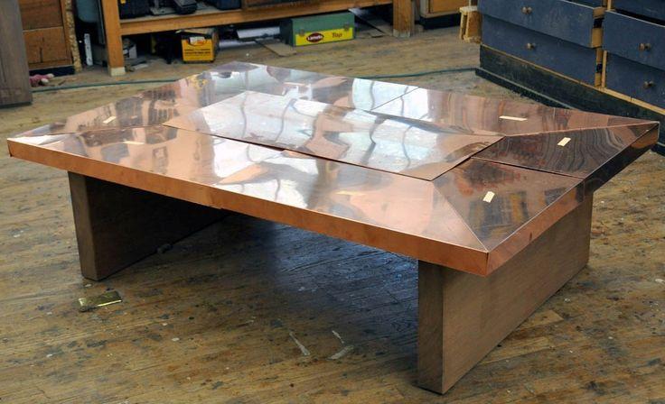 Best 12 Stylish Copper Coffee Tables ideas on Pinterest