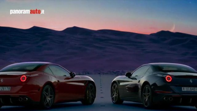 Il video risalta la bellezza maestosa del deserto accostata all'eleganza e potenza delle vetture del Cavallino Rampante
