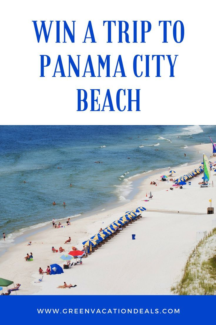 Best 25 travel sweepstakes ideas on pinterest sweepstakes 2016 win a trip to panama city beach xflitez Images