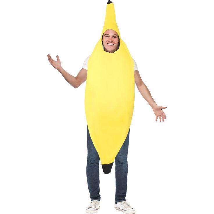 Déguisement Banane #déguisementsadultes #costumespouradultes #nouveauté2015