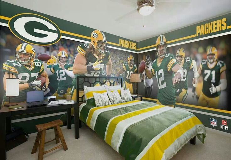 Greenbay Packers Man Cave Game Rooms