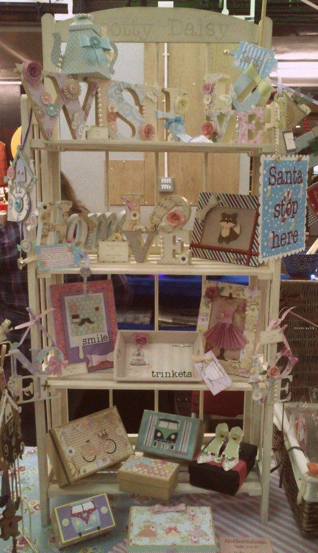 Shelves of loveliness from Spotty Daisy