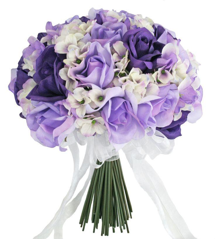 Ideas about purple hydrangea bouquet on pinterest