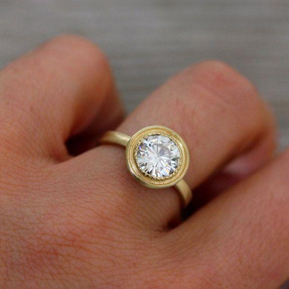 make that rose goldDiamonds Gallery, 14K Yellow, Nice Rings, Engagement Rings Bezel, Wedding Band, Matte Gold, Yellow Gold Engagement Rings, Texture Bezel, White Gold