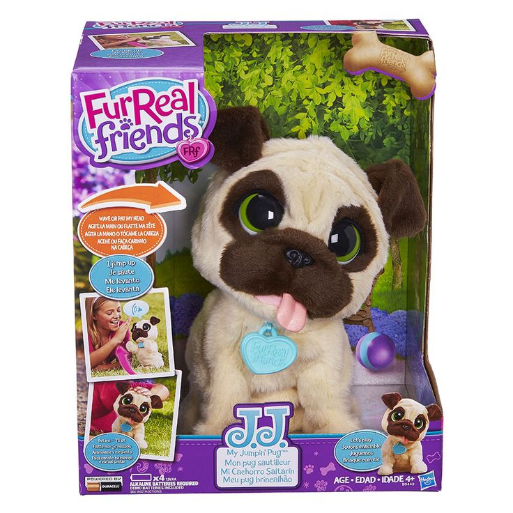 FurReal Friends JJ, My Jumpin' Pug Pet Toys R Us