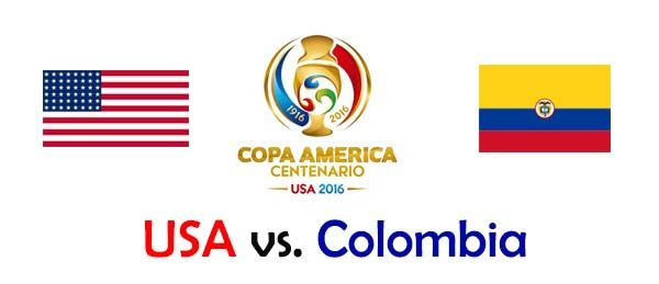 USA vs Colombia Copa America Cup 2016 Watch Live Streaming Online Is Here Now. Watch Copa America Centenario 2016 United States vs Colombia Match June 4 HD