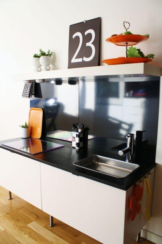 Ikea Hack: Una cocinita de juguete en la cocina : Baby-Deco