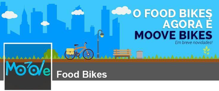 Capa do Facebook para empresa Moove Bikes, fabricante de food bikes e triciclos.