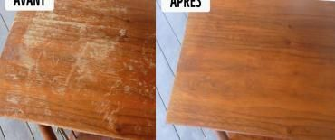 Donnez un second souffle à votre vieille table en bois pleine d'éraflures