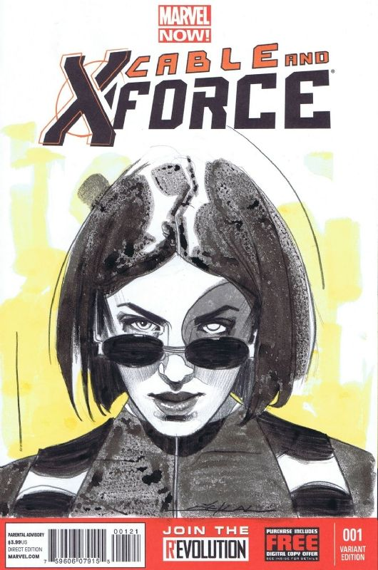 Domino Comic Art