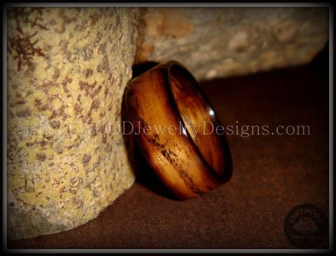 "Bentwood Ring - ""Ole Smoky"" Olive Wood Ring Classic Style - Bentwood Wood Rings - Custom handcrafted wooden rings both durable and unique"