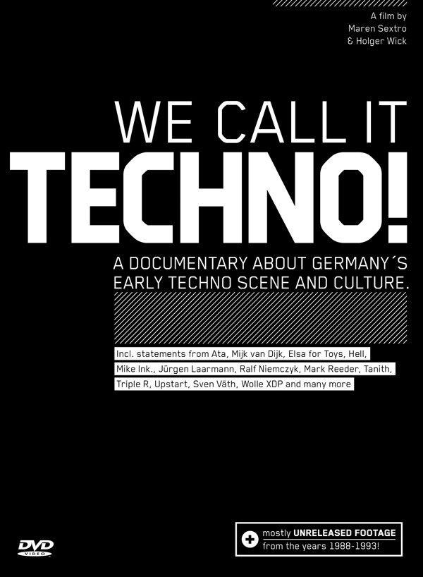 """2008 haben Maren Sextround Holger Wick den Film """"We Call It Techno!"""" herausgebracht. Die Dokumentation zeigt die Anfangsphase der Technoszene in Deutschland zwischen 1988 und 1993. Dabei haben die beiden Filmemacher sowohl auf altes Bildmaterial zurückgegriffen als auch zahlreiche neue Interviews geführt. Im Mittelpunkt stehen legendäre Orte, Protagonisten und Veranstaltungen wie z. B. das Omen …"""