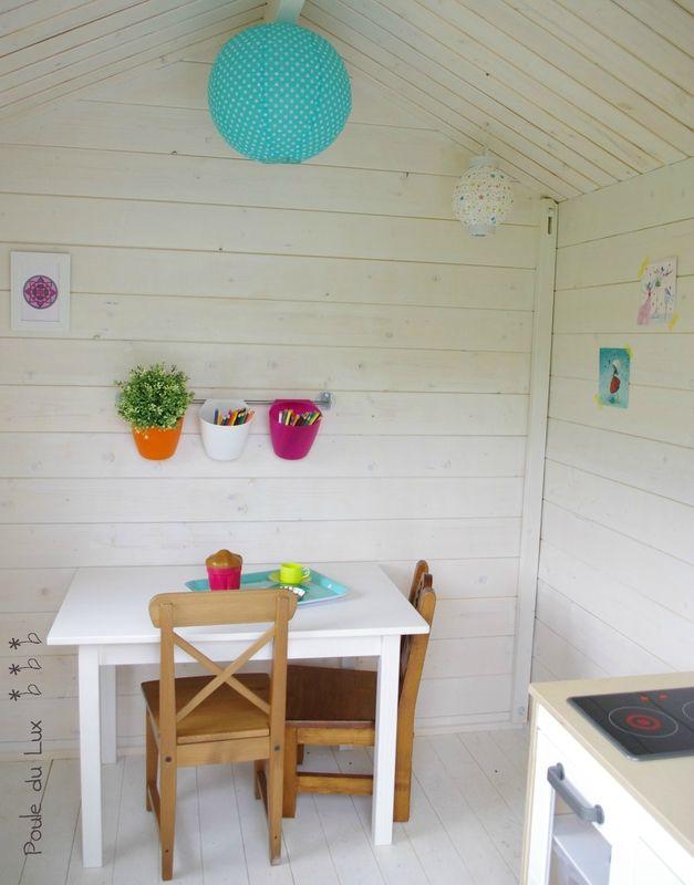 cabane chez poule du lux dehors les enfants pinterest. Black Bedroom Furniture Sets. Home Design Ideas