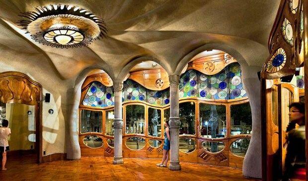 Casa Battlo, Gaudí. Barcelona