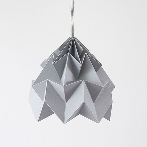 MOTH Origami Lampshade by Studio Snowpuppe   moddea
