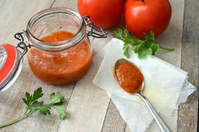 Ellouisa: Zelfgemaakte tomatenpuree