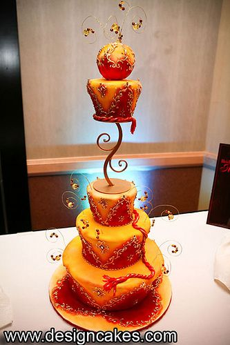 Orange and red - it doesn't get better, or brighter than this! Indian wedding ideas inspirations latest trends