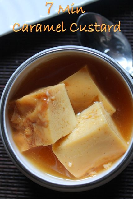 Caramel Custard is many of us favourite..It is a egg custard recipe which is served with it own caramel sauce..So good cold, but some l...