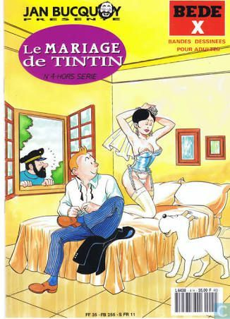 Les Aventures de Tintin - Album Imaginaire - Le Mariage de Tintin
