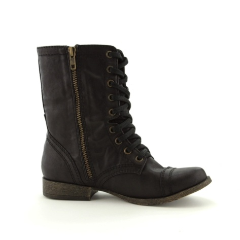 Womens Madden Girl Trixie Boot - Black