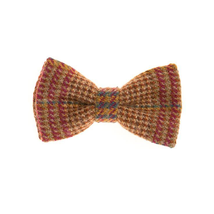 """Marbled Moorland"" Donegal #Tweed  #Bowtie. FREE Worldwide Shipping!"