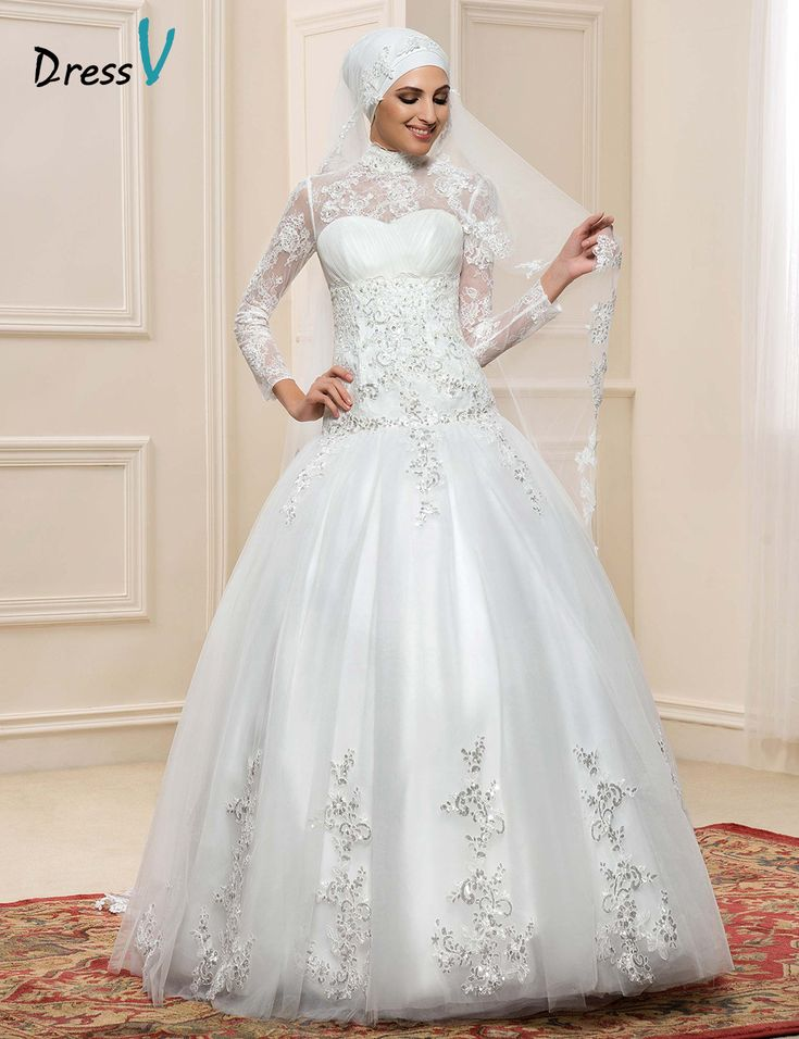 55 Lace Turtleneck Wedding Dress Best For Pear Shaped Check More At