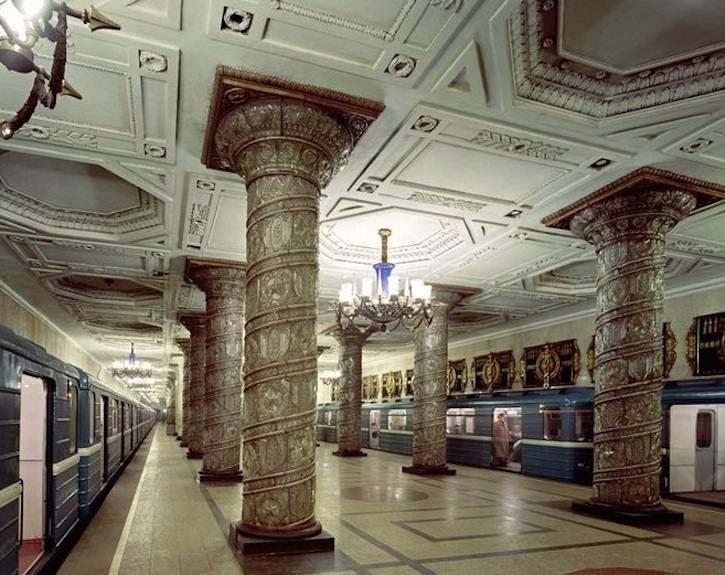 TOUR D'EUROPE DES PLUS BEAUX MÉTROS : Saint-Petersbourg