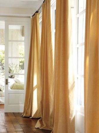 Gold Curtains Master Bedroom Home Pinterest Window