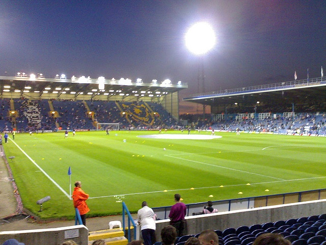 Went to Fratton Park as a Palace away supporter, lost on penalties in the Carling Cup. Edgar Davids happened to make his Palace debut this day.