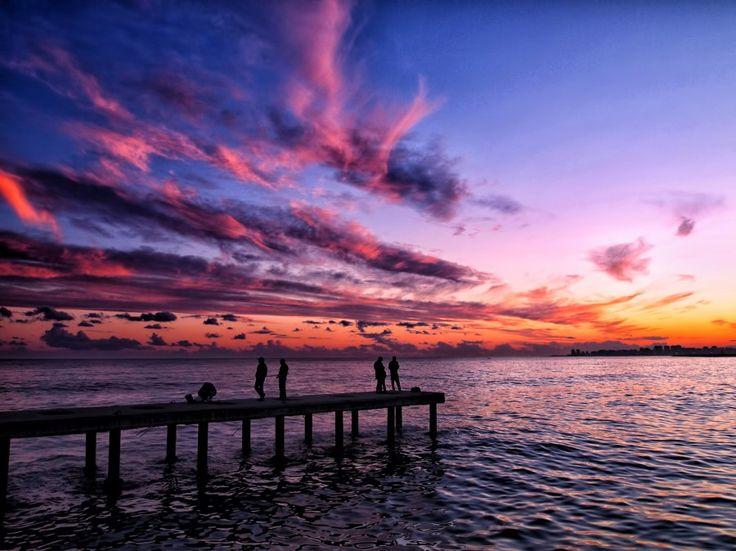 Mersin'de Günbatımı