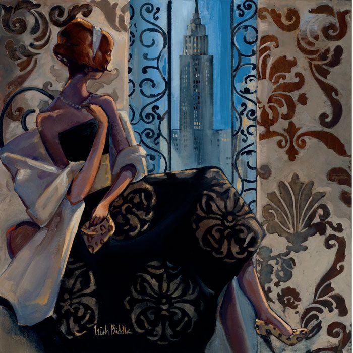 Trish Biddle © 2010 New York Black Dress