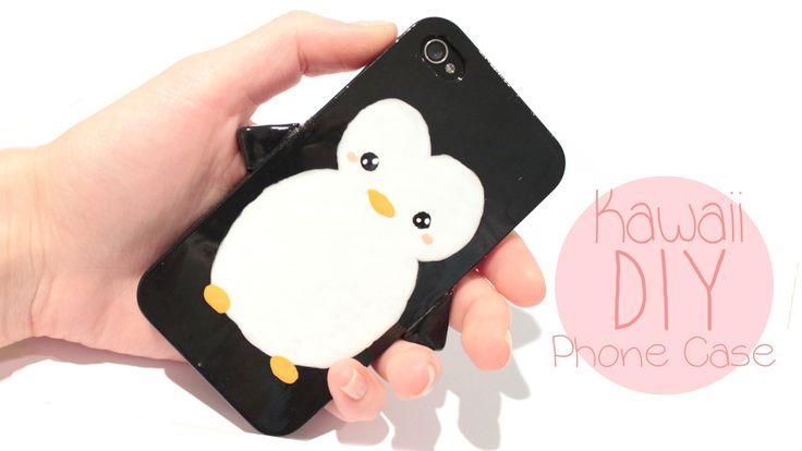 DIy Penguin Phone case
