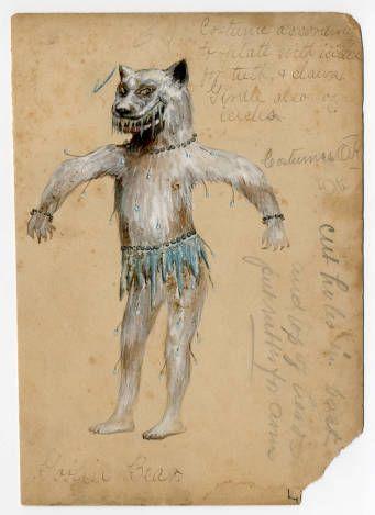 Mardi Gras 1, Plate 032. Metropolitan Museum of Art (New York, N.Y.).  Costume Institute. Fashion plates, 1790-1929 Costume Institute Fashion Plates. #mardigrascostumes #wolfcostume