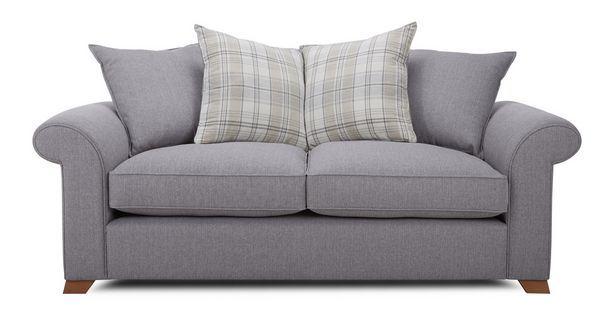 Rupert 3 Seater Pillow Back Deluxe Sofa Bed  Rupert | DFS
