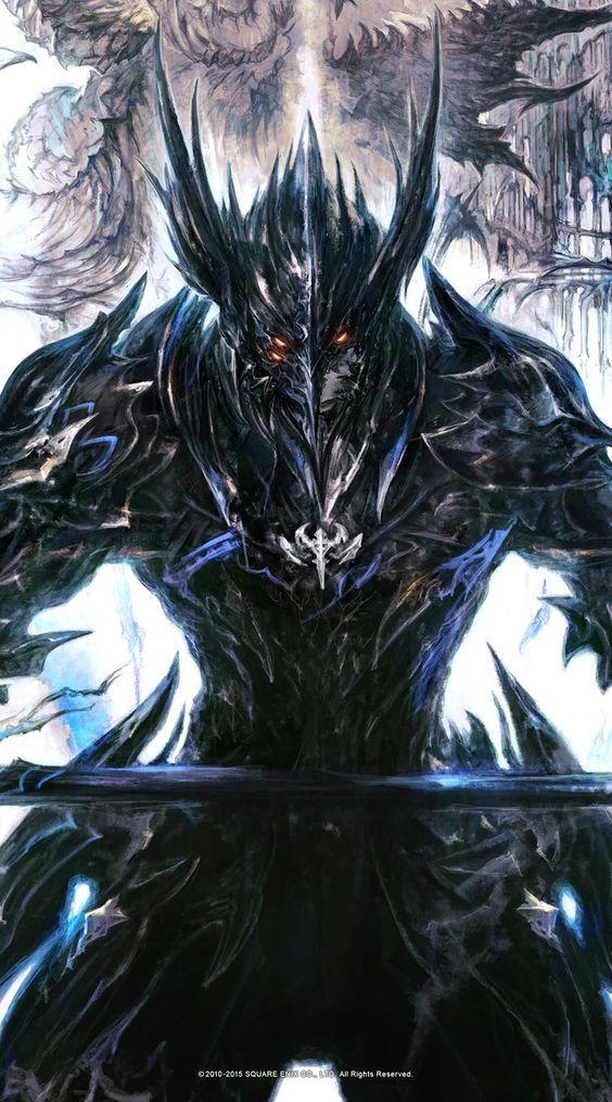 Final Fantasy XIV: Heavensward Not by Yoshitaka Amano but made by Kazuya Takahashi