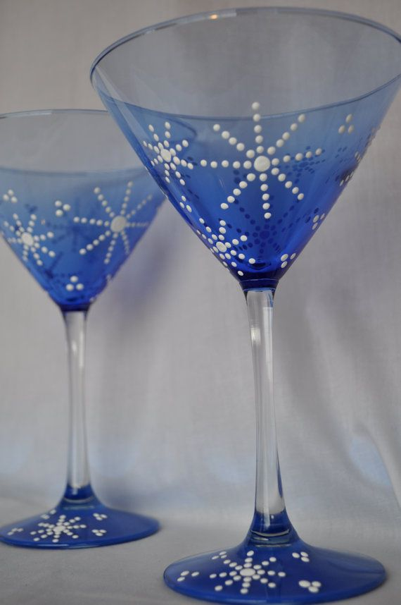 1000 images about brady gurl painted martini glasses on