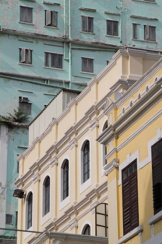 Bâtisses coloniales #architecture #macao