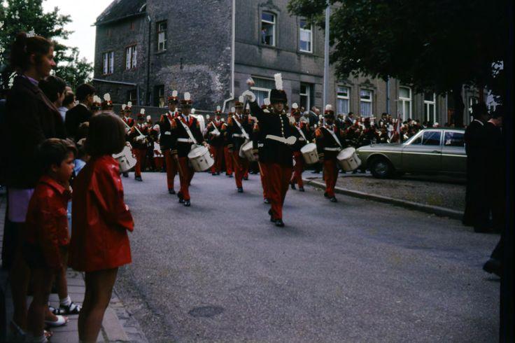 Eijsden 1970 bronk processie